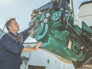 Motoren en voortstuwing Yachtservice en Refit